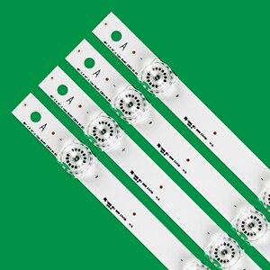 Image 2 - Novo kit 8 peças led strip substituição para lg lc420due 42lf652 42lb500 innotek drt 3.0 42 polegada a b 6916l 1710a 6916l 1709a 42lb620v