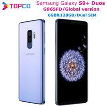 Samsung Galaxy S9 + Duos S9 Plus G965FD Globale V Dual Sim Original Handy Exynos Octa Core 6.2