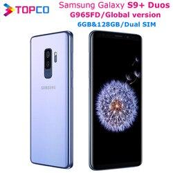 Samsung Galaxy S9+ Duos S9 Plus G965FD Global V Dual Sim Original Mobile Phone Exynos Octa Core 6.2