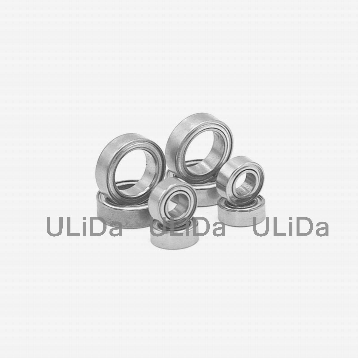Gray Metal 02138 Ball Bearing 15x10x4mm for RC 1//10 On-Road Car