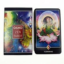 Yeni osho zen Tarot kartları PDF kılavuz İngilizce sürüm Tarot yük platformu oyun kişisel kullanım için