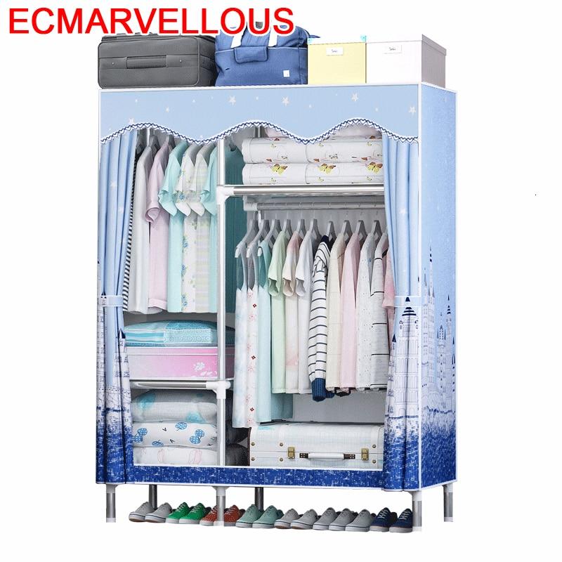 Kleiderschrank Armario Tela Meuble Armoire De Rangement Moveis Para Casa Guarda Roupa font b Closet b