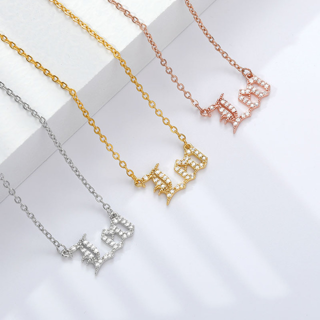 12 Zodiac Necklaces Choker  6