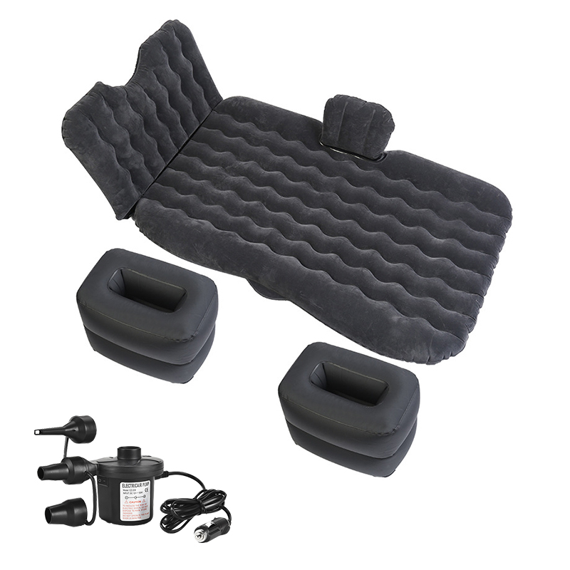 OGLAND Car Air Inflatable Travel Bed Mattress For Universal Auto Back Seat Sofa Pillow Outdoor Multifunction Camping Mat Cushion