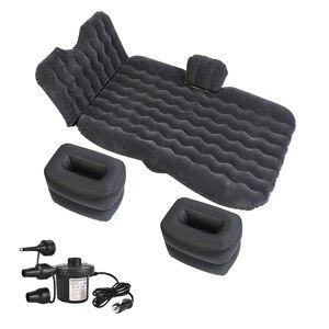 Image 1 - OGLAND автомобильный надувной дорожный матрас для универсального авто заднего сиденья, дивана, подушка для улицы, многофункциональный коврик для кемпинга