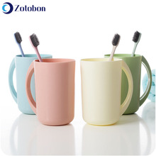 Toothbrush Cup Tumblers Bathroom Plastic Fashion Thickened ZOTOBON F361 Sold Lovers Simple