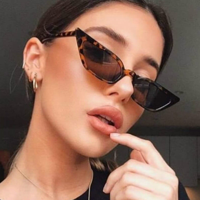 2020 New Women Cateye Vintage Red Sunglasses Brand Designer Retro Points Sun Glasses Superstar Female Lady Eyeglass Cat Eye