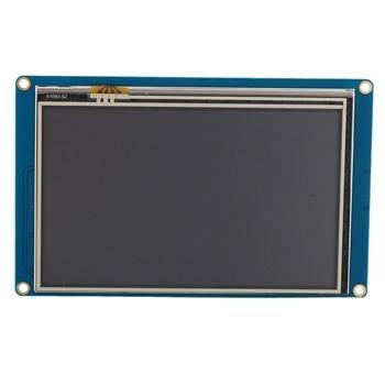 ABHU-Nextion 5.0 Inch NX8048T050 Serial USART HMI Intelligent LCD Display Module 800X480 Smart Resistive Press Screen Panel