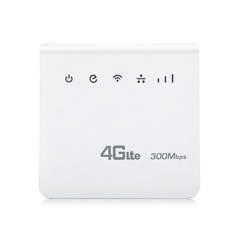 YIZLOAO 4G LTE CPE Wifi Router FDD TDD Broadband 300Mbps Mobile Router Hotspot Gateway Modem With SIM Card Slot RJ45 LAN Port