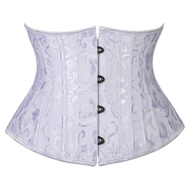 корсеты женские с 24 косточками утягивающее белье для талии фотография