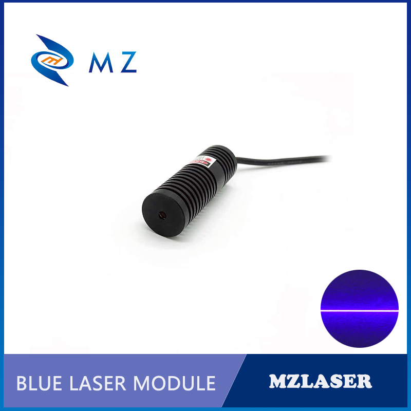High Power Mini Size 450nm 30mw 50mw 80mw Blue Line Laser Module For Room Escape/ Maze Props/ Bar Dance Lamp