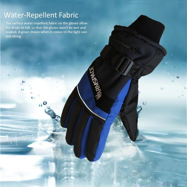 USB Heated Gloves Winter Thermal Hand Warmer Electric Heating Glove 4