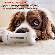 Pet Dog Toys 2021 Newly Dog Toy Interactive Emotions Smart Pet Bone Home Toy APP Control Automatic Smart Pet Dog Bone Toy
