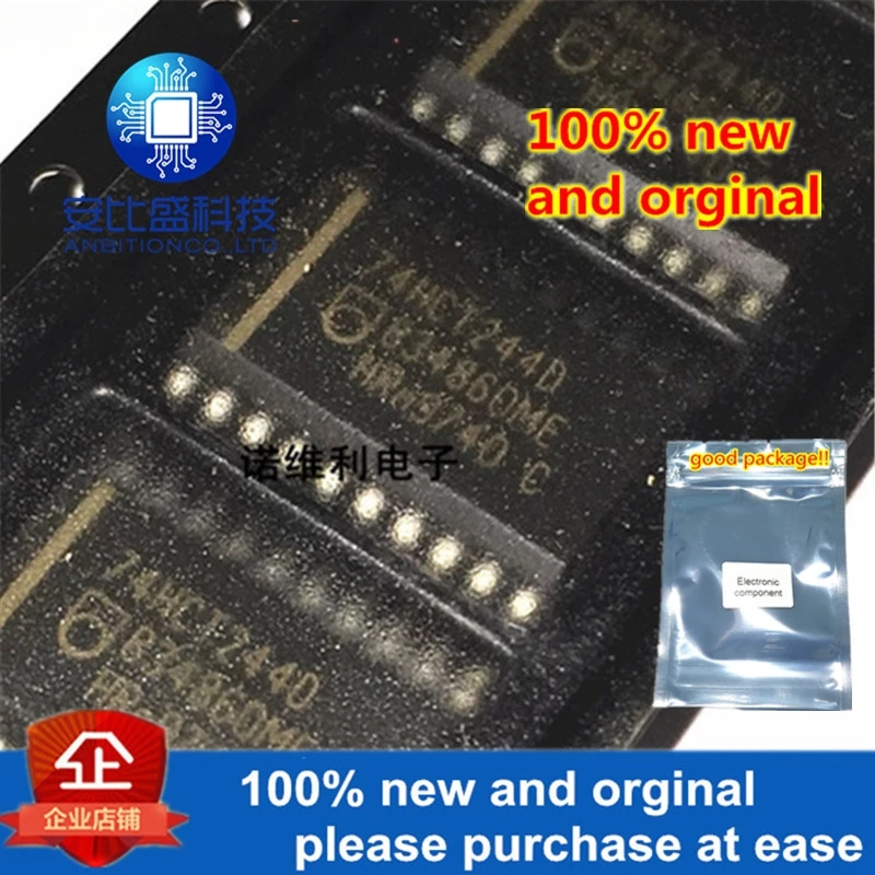 10pcs 100% New And Orginal 74HCT244D 74HCT244 SOP20 7.2MM In Stock