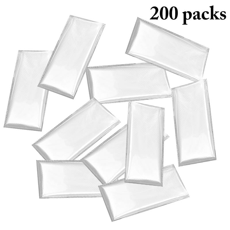 200 Packs Disposable Gloves Multiuse Plastic Clear Gloves Food Safety Handling Gloves Waterproof Disposable Gloves For Home