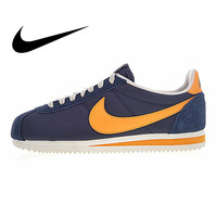 Nike CLASSIC CORTEZ NYLON Men's Running Shoes Sneakers Outdoor Sports Designer Walking Walking Athletic Good Quality 488291 410