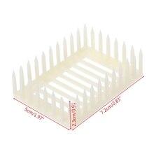 Пластиковая королева маркер клетка клип ловушка для пчел пчеловод пчеловодство инструменты оборудование 72XF
