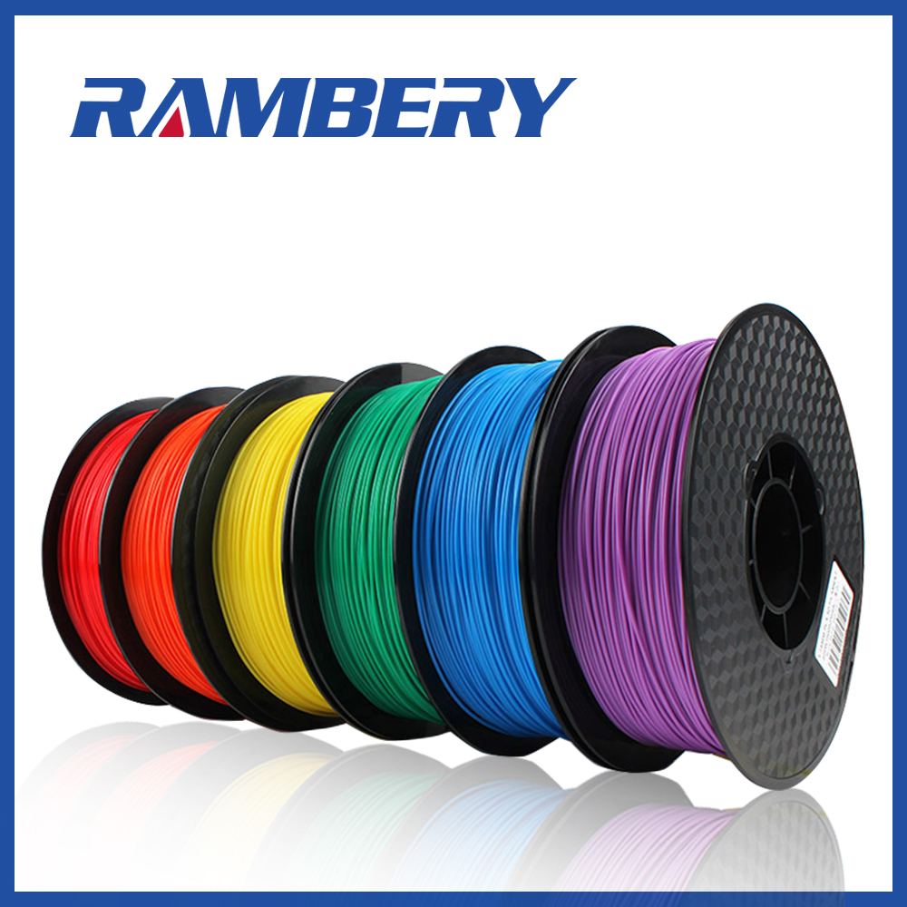 PLA 3D Printer Filament 1.75mm ABS PLA 1.75 Filament 24 Colors White Dimensional Accuracy +/- 0.05 Mm, 1kg (2.2LBS) / Spool