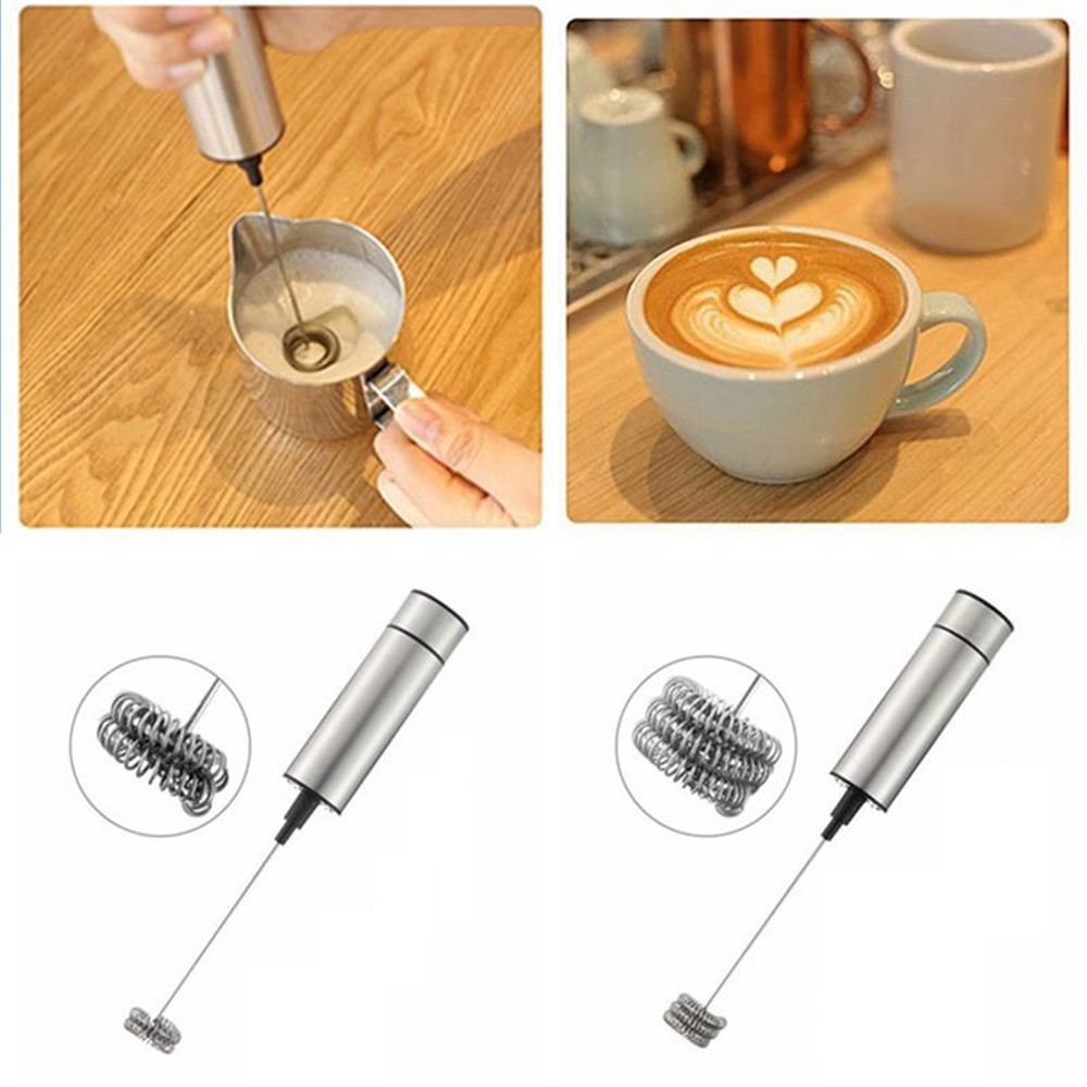 Hd7f20efde5f9465490978e95484011eeE Handheld Electric Stir Stick Blender Milk Frother Foamer Stiring Whisk Head Agitator Mixer Kitchen Coffee Stirrer Maker Tool