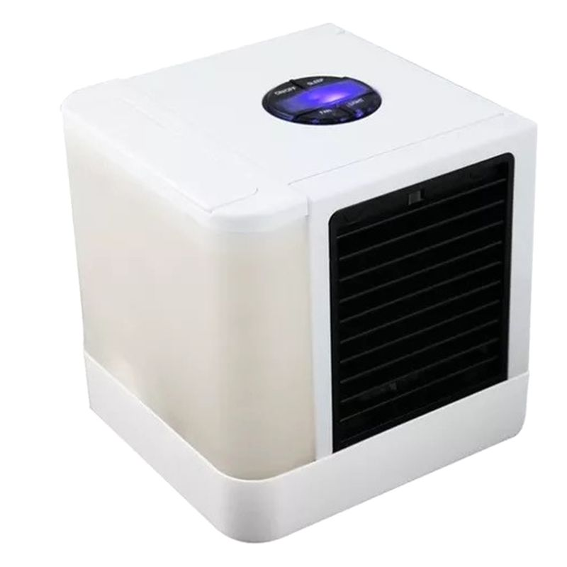 3 3 In 1 Portable Air Cooler USB Personal 7 Colors LED Lights Air Conditioner Space Air Conditioner Fan Evapolar Humidifier