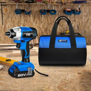 Image 5 - 20V Cordless Impact Drill Cordless Screwdriver Optional Two Piece Set 2000mAh Wireless Rechargeable Screwdriver By PROSTORMER