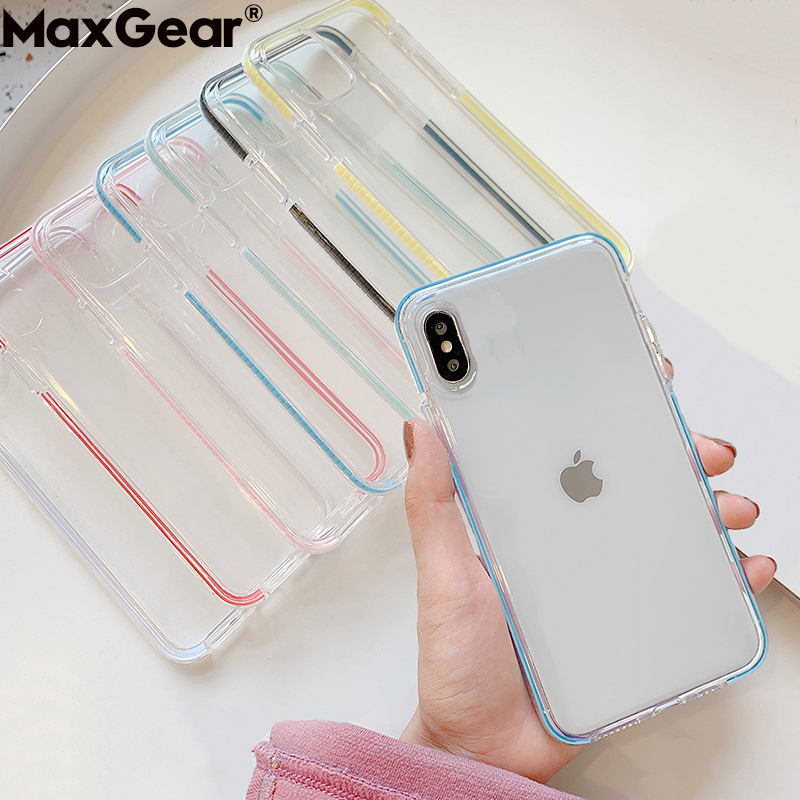 Soft Clear Silicone Cases For Xiaomi Mi 10 9T 9 8 Lite CC9 A3 Redmi 6 Note 7 Pro 5 8A 7A 6A K30 K20 Transparent Shockproof Cover(China)