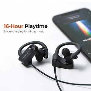 Image 4 - Mpow D9 kablosuz kulaklıklar Bluetooth 5.0 kulaklık APTX spor mikrofonlu kulaklık IPX7 su geçirmez için Huawei P30 iPhone 11