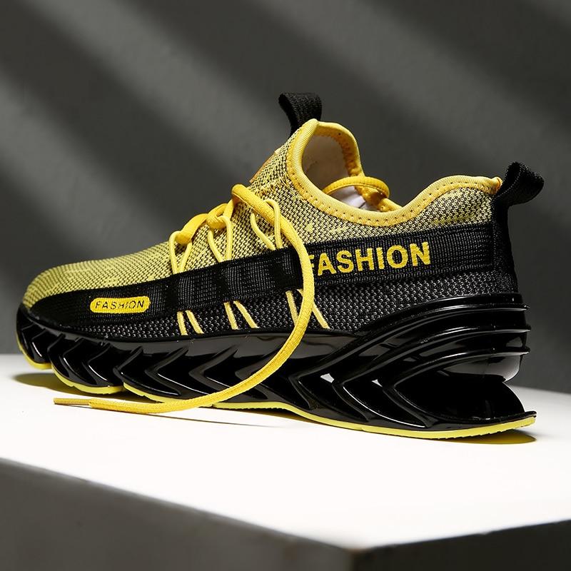 Новая серия Blade Спортивная обувь дышащая Спортивная обувь для мужчин устойчивость амортизации атлетические тренировочные беговые кроссовки для фитнеса|Беговая обувь|   | АлиЭкспресс