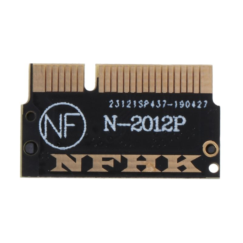 M.2 NGFF M Key SSD To Compatible For MacBook Pro Retina 2012 A1398 A1425 Adapter Converter Card