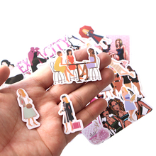 CA44 22 Pcs/set Sex And The City Mixed Stickers Laptop Skateboard Luggage Car Styling Graffiti Decals Cool Waterproof