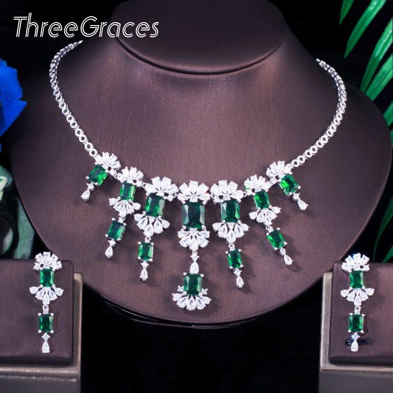 Ensembles de bijoux et boucles d'oreilles en forme de goutte pour femmes T0616