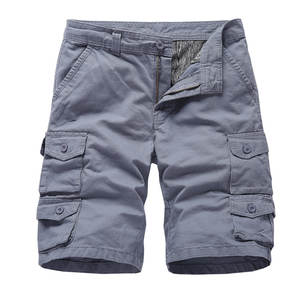 Cargo-Shorts Summer Military Tactical Multi-Pocket Camouflage Casual Solid Nice Loose