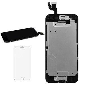 Image 5 - 5 יח\חבילה LCD מסך עבור iPhone 6G 6S מלא סט תצוגת Digitizer עצרת עם לחצן בית + מצלמה קדמית + רמקול