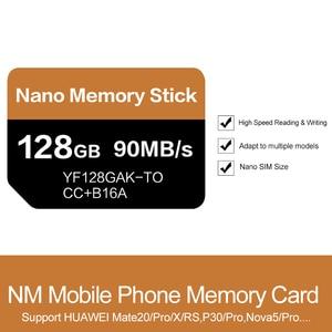 Image 3 - ננומטר כרטיס לקרוא 90 MB/S 128 GB Nano זיכרון כרטיס להחיל עבור Huawei Mate 20 Mate פרו 20 X P30 nova5 פרו