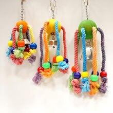Caitec pássaro mastigar brinquedos, araqunid, papagaio, mordedor, brinquedos adequados para pequenos a grandes dimensões