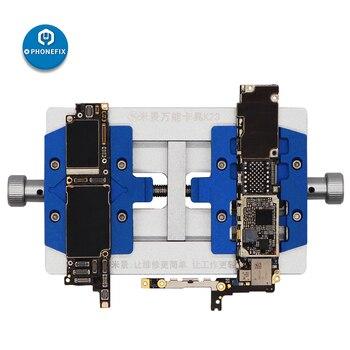 MJ K23 Doppio Albero Universale Del Telefono PCB della Scheda Madre Board Holder Saldatura Apparecchio per la Riparazione iPhone Strumenti di Riparazione di Saldatura