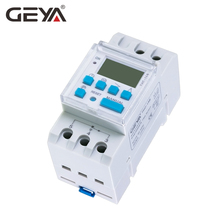 Free Shipping GEYA Astronomical Timer Switch LCD Display 16A 20A 30A Timing Control Latitude 110V 220V Astronomic