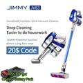 Jimmy jv83 135aw 2-em-1 aspirador sem fio portátil à venda com sucção poderosa rechargeble lítio vs jv53 sem tarifa