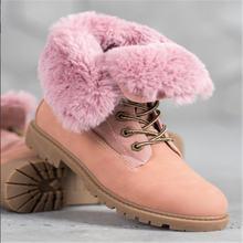 Зимние Модные женские ботильоны 2020 нескользящая Уличная обувь