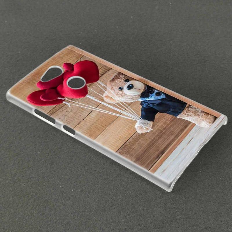 ของขวัญน่ารักตุ๊กตาหมีสำหรับ Sony Xperia L1 L2 L3 X XA XA1 XA2 XA3 Ultra 10 Plus e5 XZ XZ1 XZ2 ขนาดกะทัดรัด XZ3 XZ5 2 20 ฝาครอบ