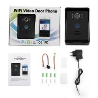 Toque Chave De Detecção De Movimento de Vídeo Campainhas Campainha Intercom com 2 Dingdong ios/Android App Suporte Wifi Telefone Video Da Porta|Peças p/ aparelho de cuidados pessoais| |  -