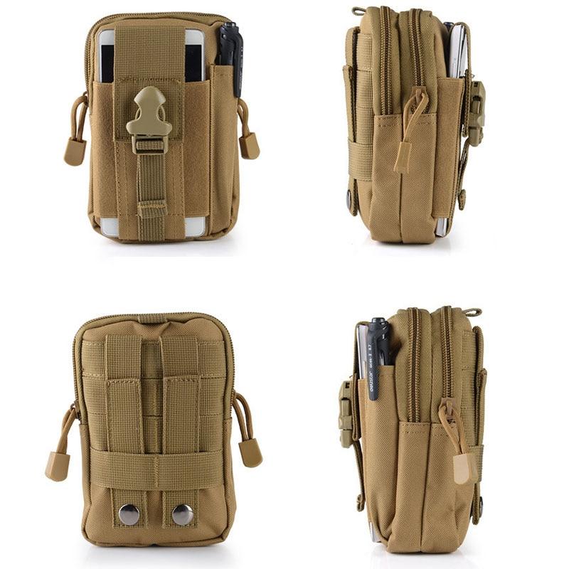 Tactical Molle Hunting Bag Waterproof Nylon Multifunction Casual Men EDC Tool Bag Small Bag Mobile Phone Case Waist Bag|Hunting Bags| - AliExpress