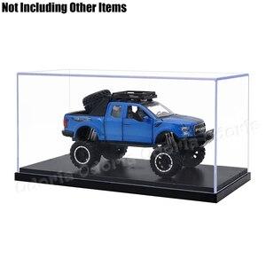 Image 4 - Odoria 24.8 × 12 × 11.5 センチメートルアクリルディスプレイケースボックスプラスチックベースの防塵アクションフィギュアモデル車の車両ポップグッズ人形