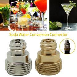 Adapter konwersji strumienia Soda z kluczem kształtowym L do adaptera CO2 Soda Stream wymień konwersję kanistra Paintball Części i akcesoria Dom i ogród -