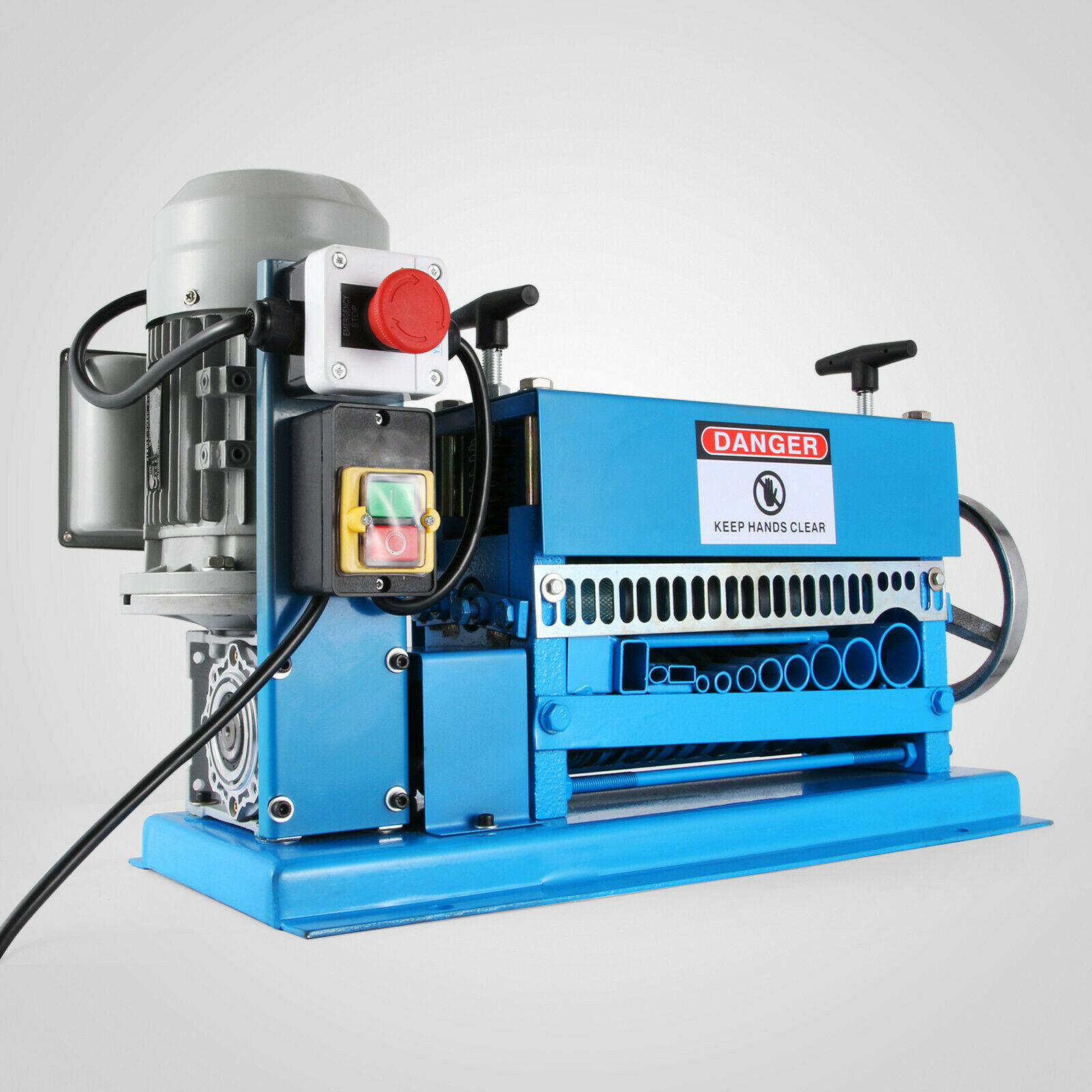 Cable Wire Stripping Machine 38Mm Cable Peeling Machine Wire Stripper Adjustable Springs Suitable Cables
