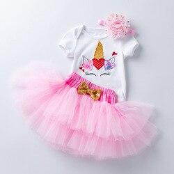 Verão vestido da menina do bebê dia dos namorados festa meninas tutu vestido da criança crianças roupas do bebê 1st aniversário roupas infantil vestido
