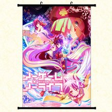 Anime Poster NO GAME LIFE Wall Scroll Printed Painting Home Decor Japanese Cartoon Decoration