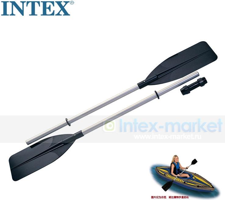 Genuine Original INTEX Paddle Rubber Rowing Oars Paddle Aluminium Alloy Paddle A Pair Of 69627