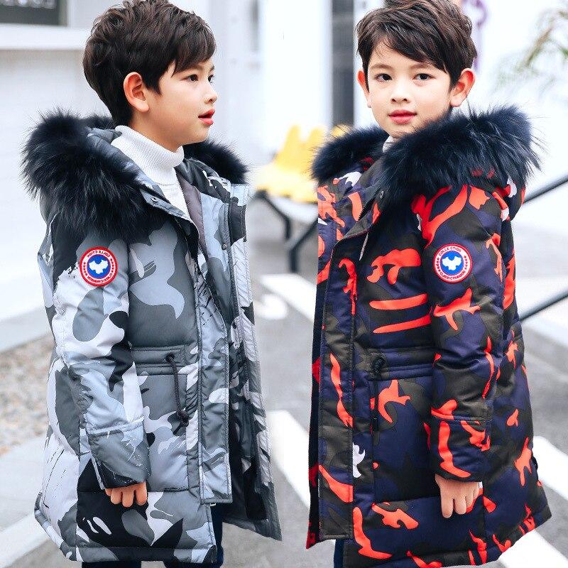 Hiver doudoune garçon enfants 90% doudoune enfant vêtements enfants vêtements de neige vêtements d'extérieur pour enfant enfant en bas âge garçon vêtements 12
