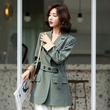 Women's Small Suit blazer 2019 New Autumn Loose Casual pure